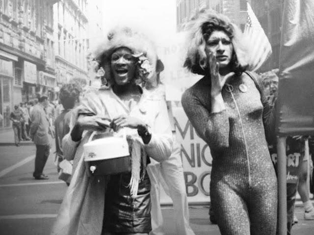 Marsha P Hunt and Sylvia Rivera (from Netflix: 'The Death and Life of Marsha P. Johnson' )