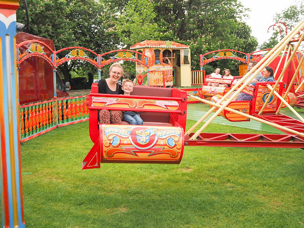 Fun at the Fair with Carters Steam Fair
