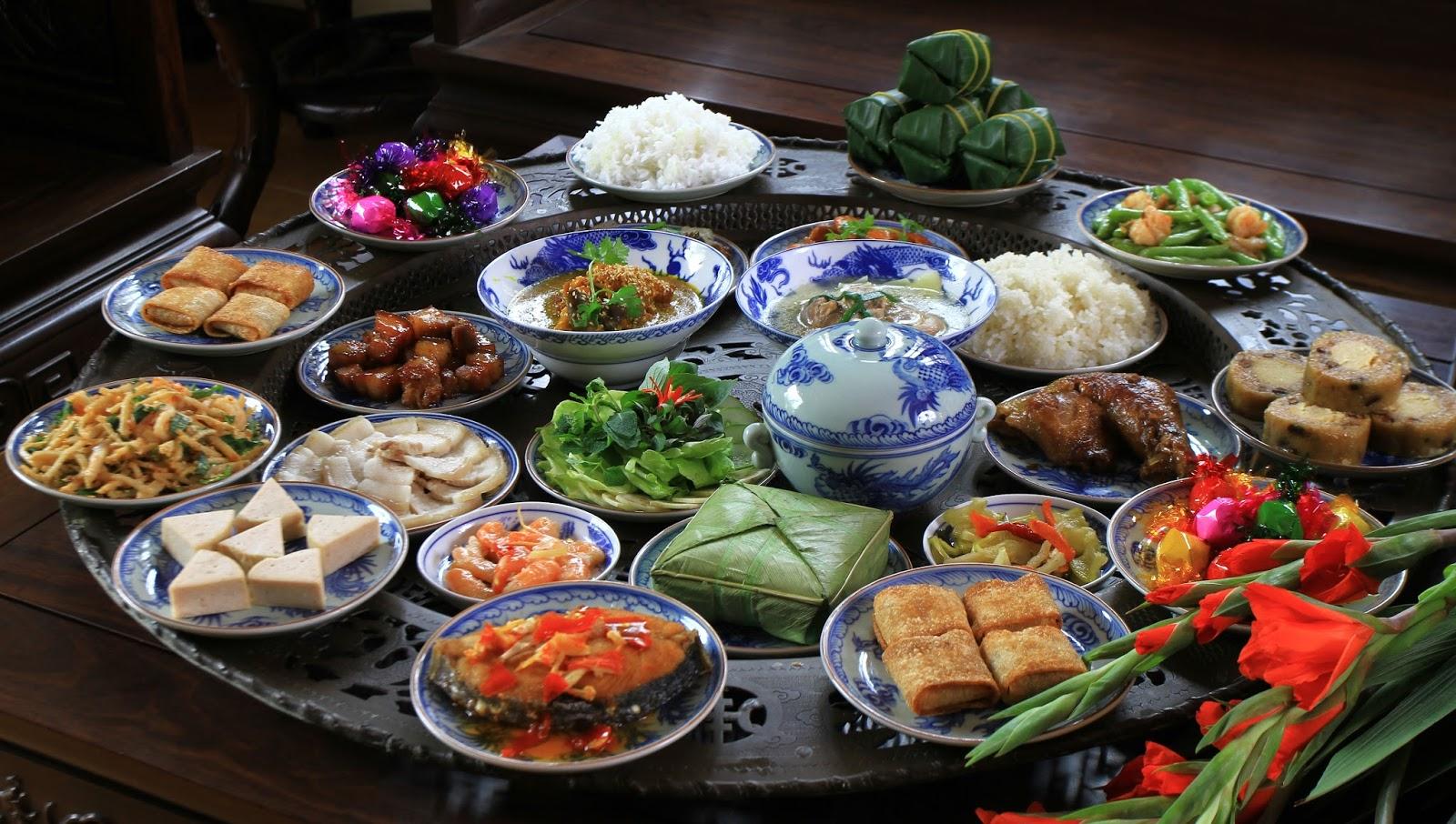 Những món ăn nên từ bỏ trong dịp tết Nguyên Đán