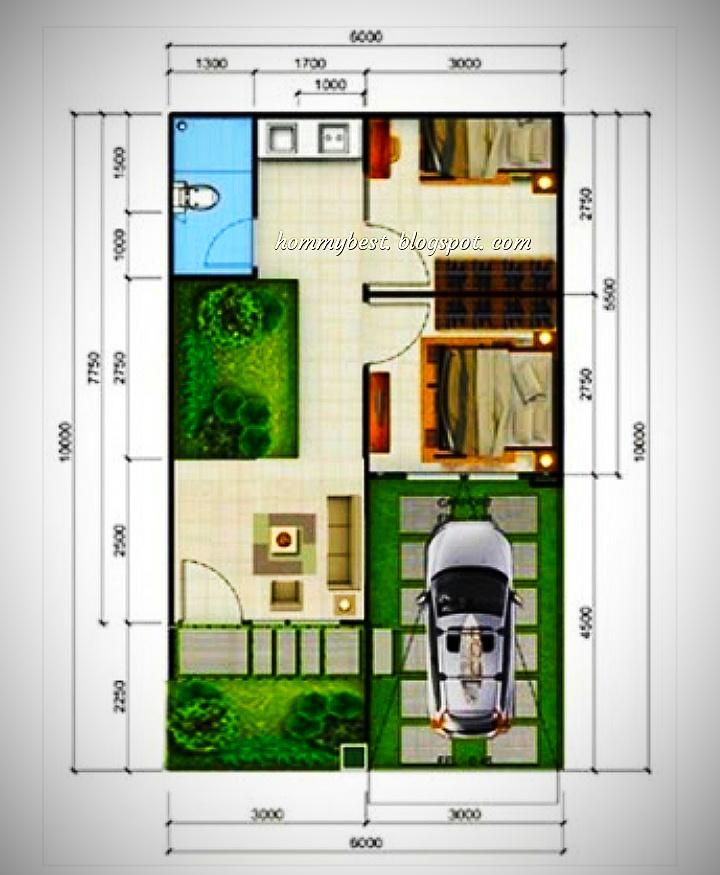 Desain Rumah Minimalis 2 Kamar Tidur Hommybest Com