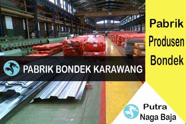 Pabrik Bondek di Karawang