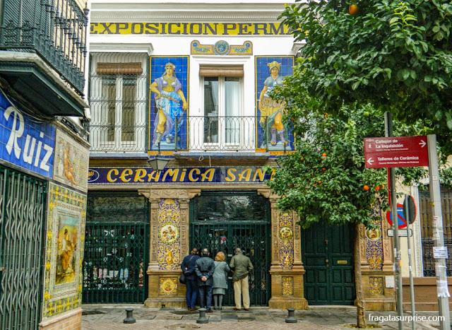 Sevilha, bairro de Triana, Museu da Cerâmica