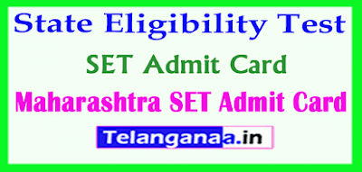 Maharashtra SET Admit Card State Eligibility Test Admit Card Download