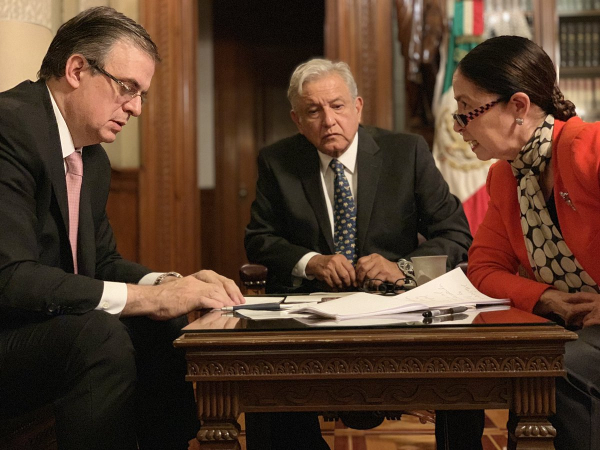López Obrador informó sobre su conversación a través de las redes / TWITTER