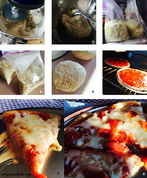 Picture Guide to Pizza Dough