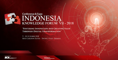 BCA Learning Services mengadakan Indonesia Knowledge Forum 2018