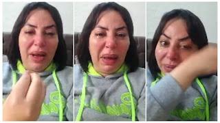 (بالفيديو) منال عبد القوي في حالة هيستيرية كبيرة... تبكي و تهدد على المباشر بسبب... (ص... ها)