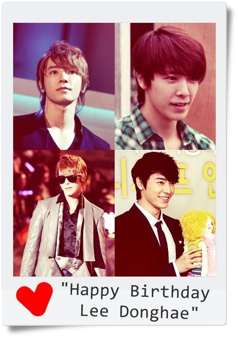 Happy Birthday,Lee Donghae!