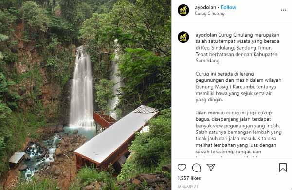 Curug Cinulang Cicalengka Bandung Timur