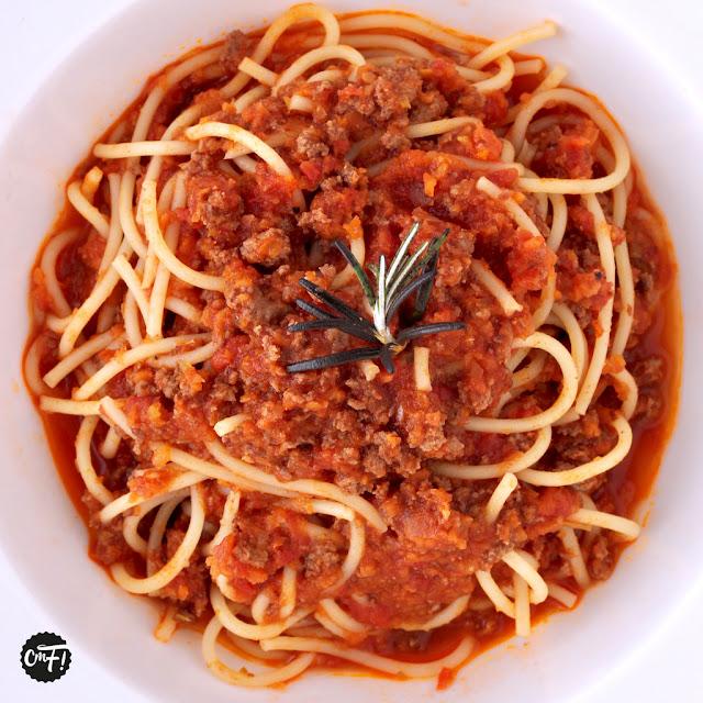 """Sauce bolognaise """"ragù alla bolognese"""""""