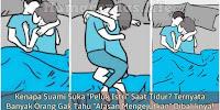 """Kenapa Suami Suka """"Peluk Istri"""" Saat Tidur? Ternyata Banyak Orang Gak Tahu """"Alasan Mengejutkan"""" Dibaliknya!"""