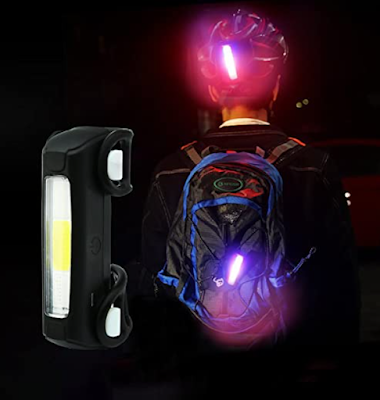 Lista Ultra Bright Bike Light USB Bicycle Tail Light for Cycling Safety With 7 Modes High Intensity Light