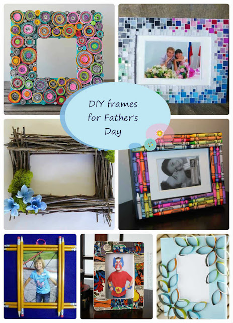 DIY frames for Father's day