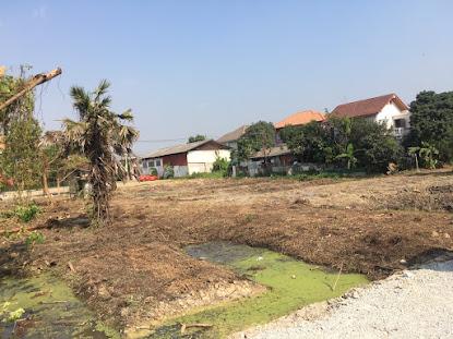 ขายที่ดิน ย่านพระราม 5 ซอยบางไผ่ 8/1 ถนนนครอินทร์ นนทบุรี พื้นที่ 4 ไร่ 13 ตรว. (แบ่งขายได้) ตารางวาละ 32,000