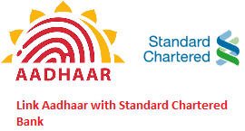 Link Aadhar with Standard Chartered Bank