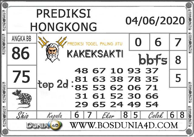 Prediksi Togel HONGKONG DUNIA4D 04 JUNI 2020