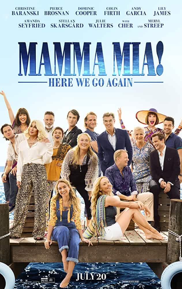 Mamma Mia! Here We Go Again 2018 x264 720p Esub NetFLix Dual Audio Hindi English GOPI SAHI