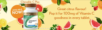 Chewable C Plus Shaklee