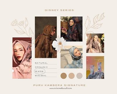 disney collection puru kambera hijab indonesia