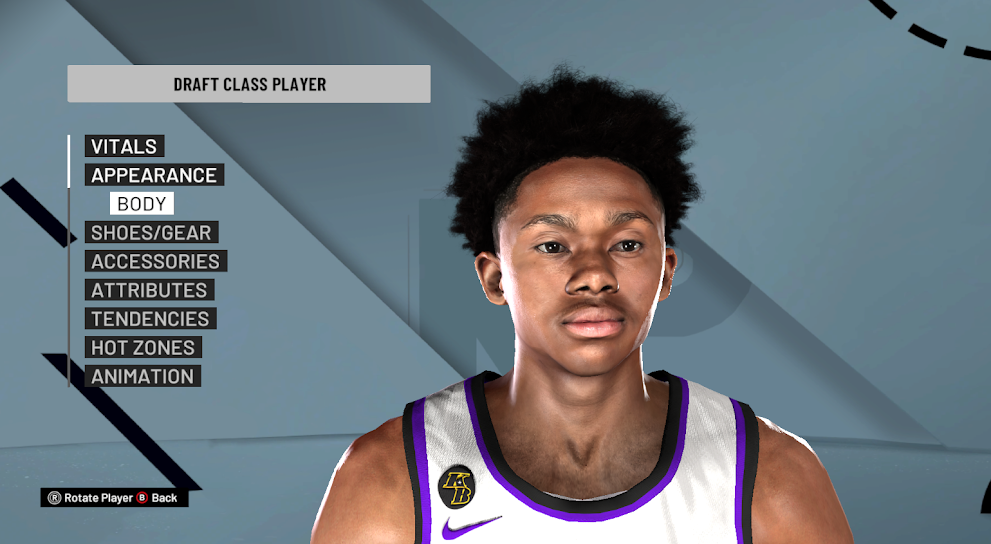 Joshua Primo Cyberface (2022 Rookie ) by PPP [FOR 2K21]
