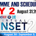 VINSET 2.0 DAY 2 SCHEDULE