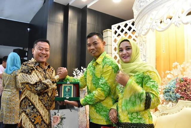 Kapolres Tanjungbalai AKBP Irfan Rifai Hadiri Pisah Sambut Dandim 0208/AS