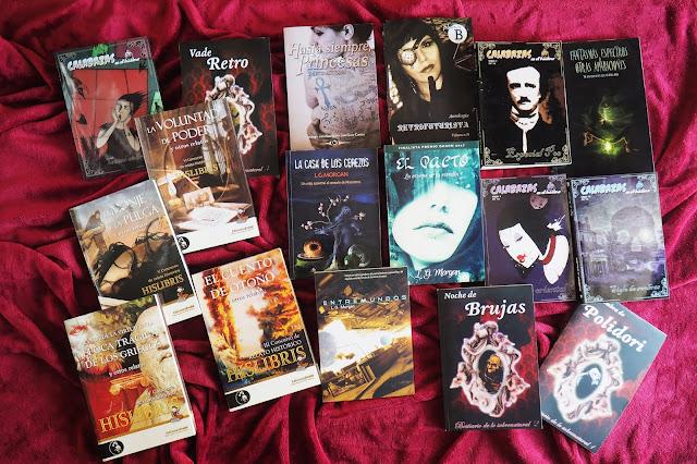 Novelas y antologías de L. G. Morgan