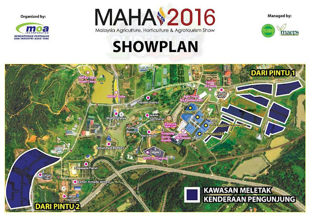 Lokasi Expo & Pameran MAHA 2016