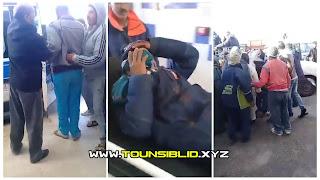 (بالفيديو) حرب عروشات بين بني خداش و دوز بسبب خلاف حول قطعة ارض مما تسبب في عديد الإصابات الخطيرة للطرفين