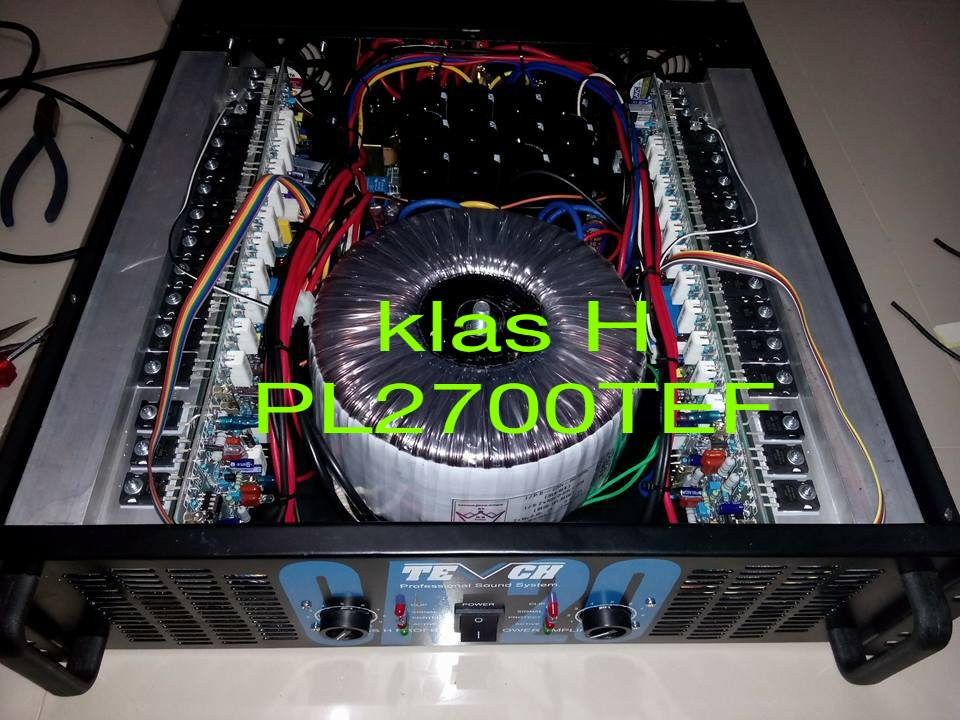 Kit Pcb Power Built Up Crown Java Merakit Amplifier Built
