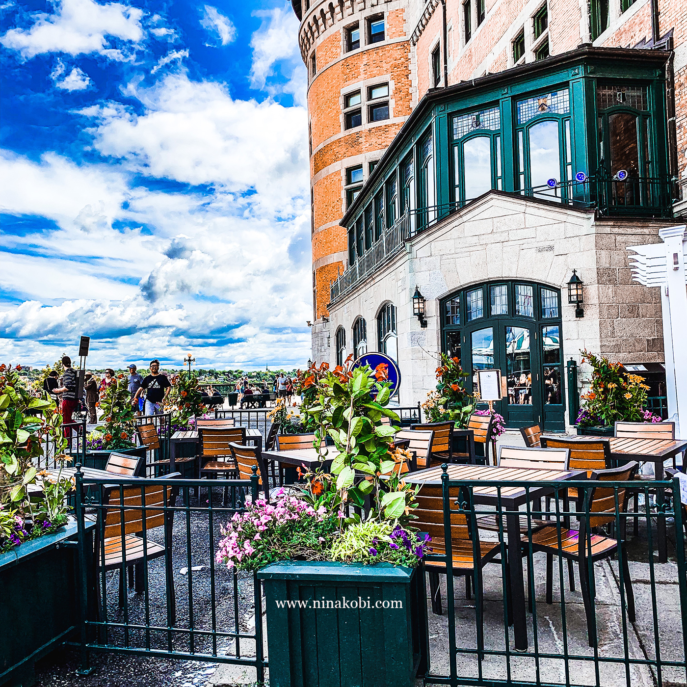 Quebec City,Chateau Frontenac , travel to Canada