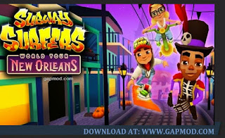 Subway Surfers New Orleans Mod Apk Unlimited Coins and Keys