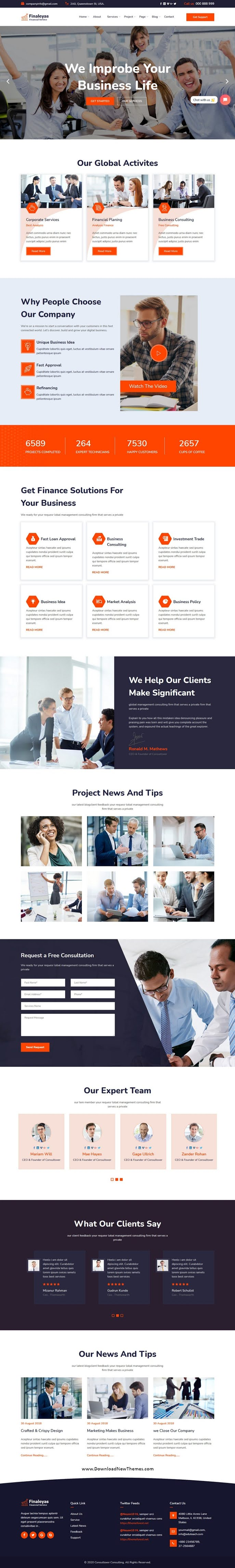 Corporate & Financial Business Template