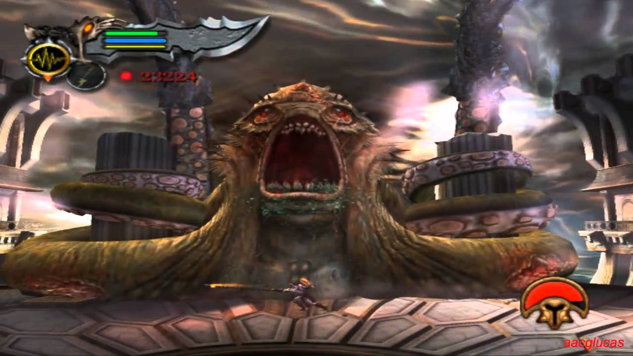 God of war ii rom (iso) download for sony playstation 2 / ps2.
