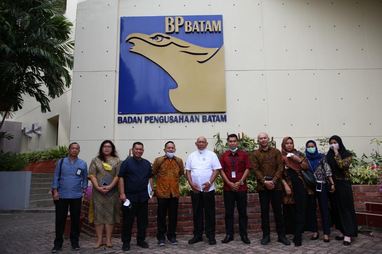 Plt BP Bintan Bersama Jajaran Melakukan Kunjungan Kerja Ke BP Batam