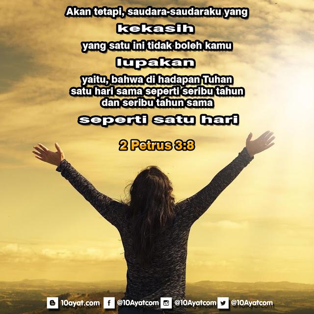 2 Petrus 3:8