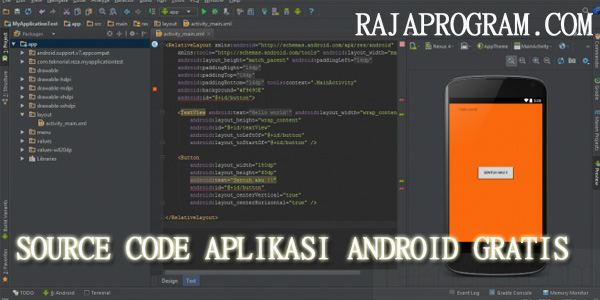 Source Code Aplikasi Android Gratis