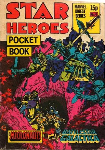 Star Heroes pocket book #4, the Micronauts