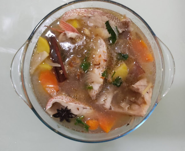 Sup Ikan Merah Mudah Dan Sedap, sup ikan merah, ikan merah, langkah demi langkah sup ikan merah, cara buat sup ikan merah, sup ikan, resipi sup ikan, mudahnya masak sup ikan, resipi makanan berpantang, menu berpantang, makanan dalam pantang, ikan yang boleh makan ketika pantang, resipi ikan berpantang, sup ikan merah mudah dan sedap, resepi sup ikan, resepi sup ikan merah, resipi ikan merah mudah dan sedap, mudahnya masak ikan