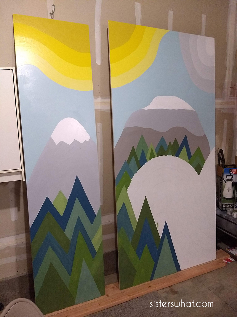 how to paint a mural for kids room