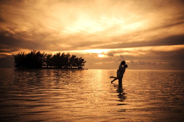 Lua de mel na Polinésia Francesa