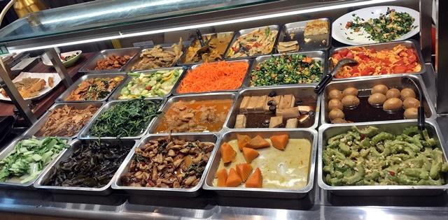 綠原品健康蔬食自助餐-錦州店~台北捷運行天宮站素食自助餐