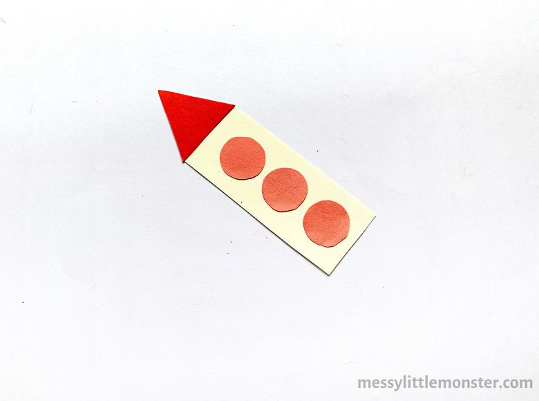 rocket paper craft