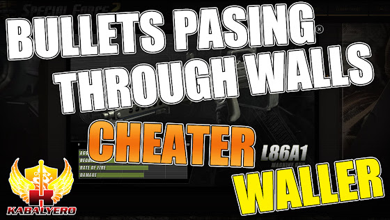Bullets Passing Through Walls! CHEATER! WALLER!!! ★ Special Force 2 Philippines