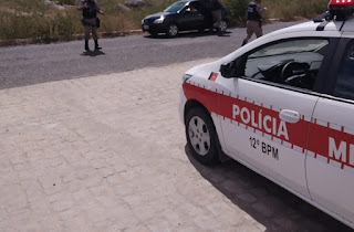 Polícia Militar prende suspeito de participação em roubo a correspondente bancário em Brejo dos Santos