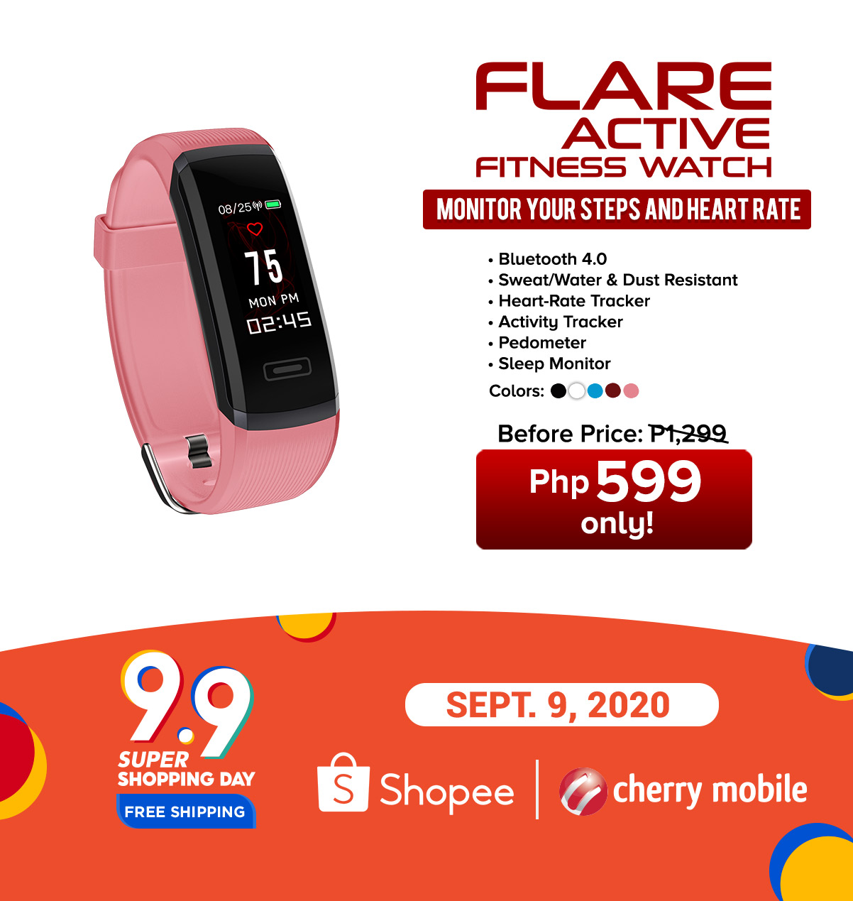 Cherry Mobile Shopee 9.9 Super Shopping Day