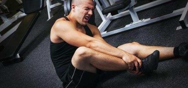 Bagian Tubuh yang Rawan Cedera saat Latihan