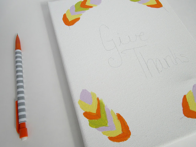 Thanksgiving DIY Art Print
