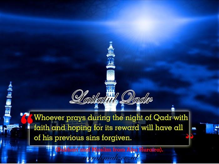 Spirit Hakiki Ramadhan Dan Orang-orang Terpilih Berjumpa  Lailatul Qadar di Bulan Mulia