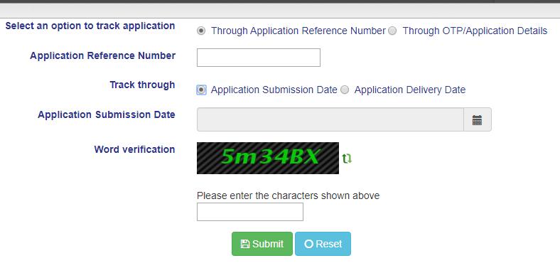 Jharsewa Tracking of Application